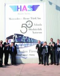 Has Turizm 50. Yılda 50 Otobüs