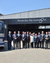 Mercedes-Benz Türk, 50. yılını Davutpaşa Fabrikası'nda kutladı