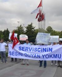 Servisçiler Eylemi