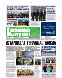 Taşıma Dünyası Gazetesi 15 Nisan 2013