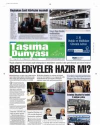 Taşıma Dünyası Gazetesi 8 Nisan 2013
