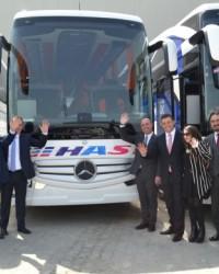 Yeni Travego 25 Firmaya 50 Otobüs
