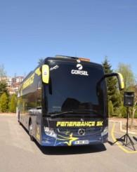Fenerbahçe'nin yeni takım Otobüsü