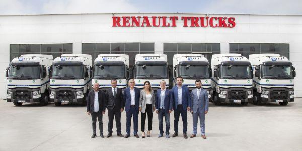 12 adet Renault Trucks T460 aldı