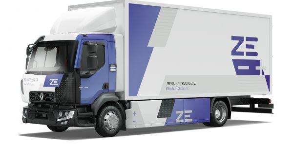 16 tonluk ilk D Z.E. kamyonu DelanchyGroup teslim aldı