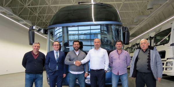 2017'nin ilk Cityliner'ı Eslem Turizm'e