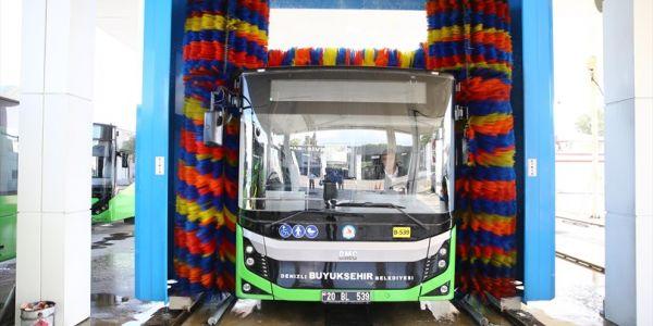 230 otobüs hergün temizleniyor