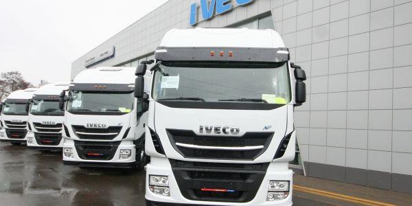 IVECO'nun 23 CNG'li kamyonlar Rusya'da