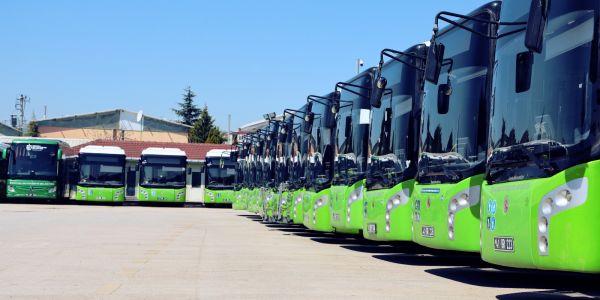 247 otobüs bir ayda 72 bin sefer yaptı