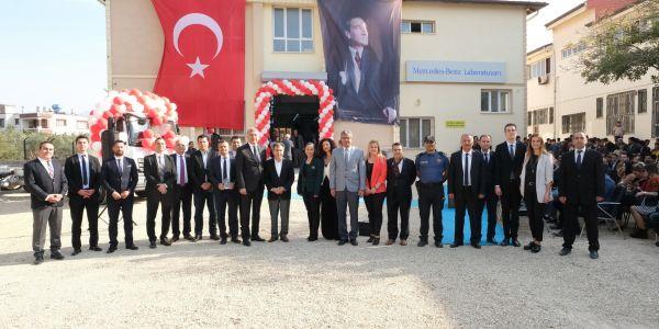 Mercedes-Benz Laboratuvarı 29'uncusu Hatay'da açıldı