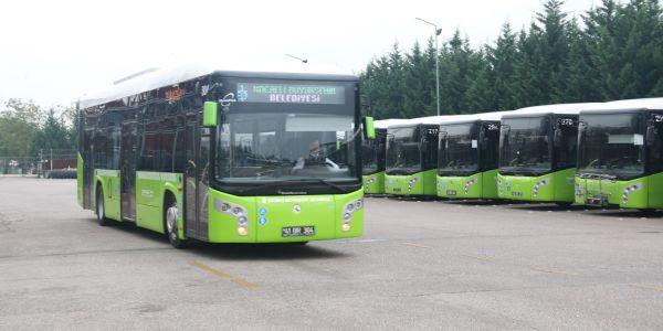 336 otobüs 672 kez dünyayı turladı