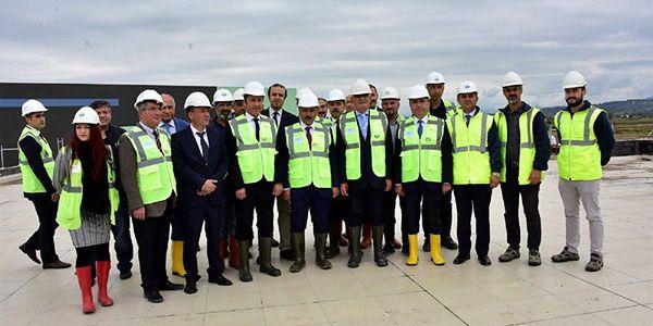 50 milyon Euro'luk lojistik köyün açılışına 3 ay kaldı