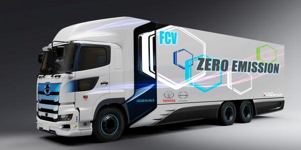 600 km menzilli hidrojen yakıtlı ticari araç
