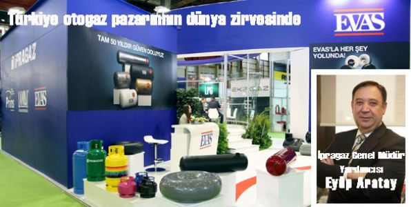 6. LPG, CNG, LNG Fuarı – Gas Turkey 2013, sektörü buluşturdu