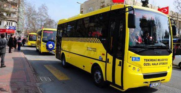 82 Ozel Halk Otobüsüne 19 hat kiralanacak