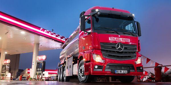 8x2 ADR'li kamyonların kapasitesi 33,5 ton oldu