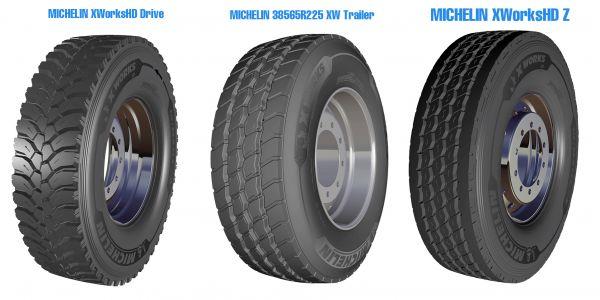 Ağır Vasıtalara yeni Michelin X Works lastikleri