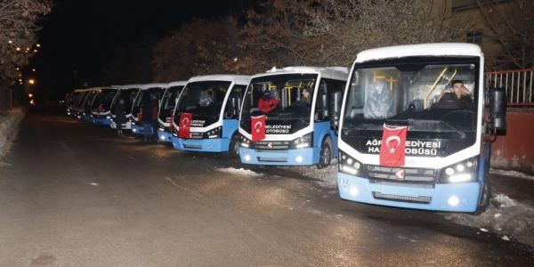 Ağrı Belediyesi 66 Karsan Jest aldı