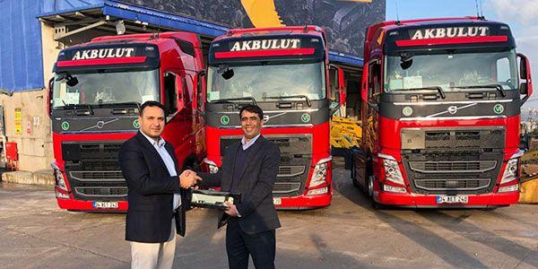 Akbulut Nakliyat 7 Volvo Trucks aldı