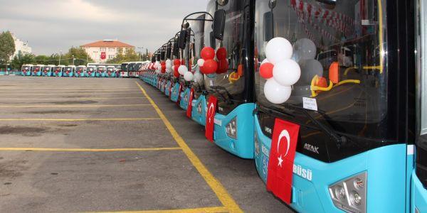 Akhisar toplu ulaşımını Karsan ile yeniliyor!