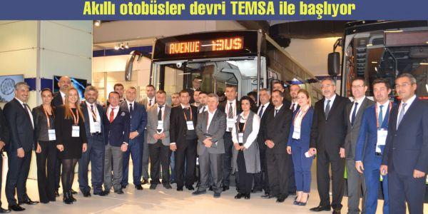 Akıllı otobüsler devri TEMSA ile başlıyor
