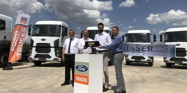 Akkoç Lojistik, filosunu Ford Trucks ile genişletti