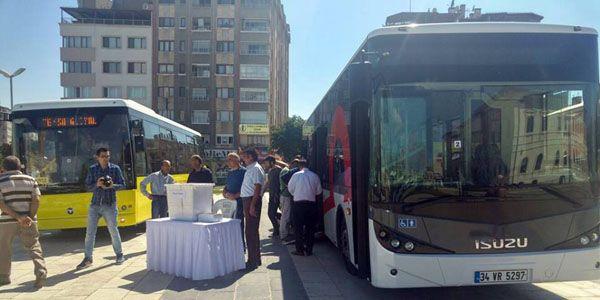 Alınacak otobüsleri Sivaslılar seçiyor
