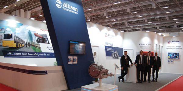 Allison Transmission, tam otomatik şanzıman çözümlerini sergiledi