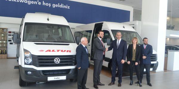 Altur Turizm, 67 Volkswagen Crafter aldı