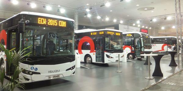 Anadolu Isuzu 6 aracıyla Hannover Fuarı'nda