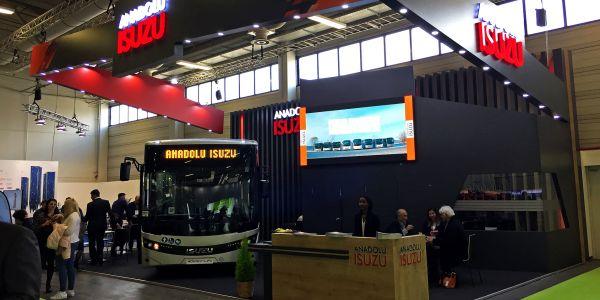 Anadolu Isuzu Bus2Bus Berlin Fuarı'nda