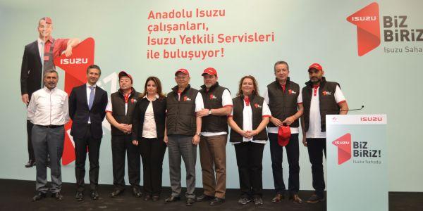 Anadolu Isuzu güçlü servis ağı için sahada