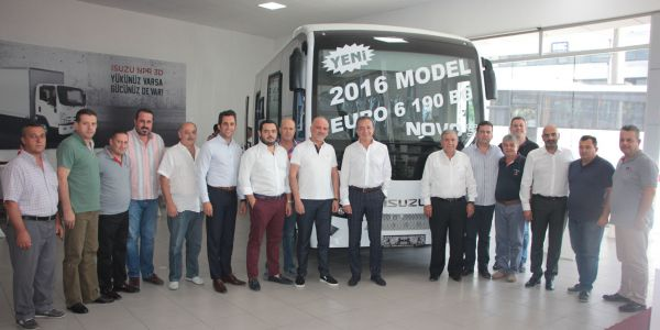Anadolu Isuzu İzmir'li Servis Taşımacılarıyla buluştu