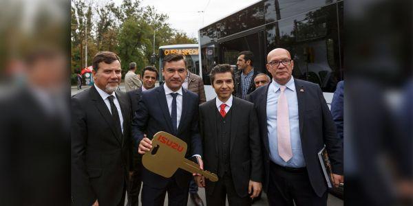 Anadolu Isuzu, Romanya'da 45 otobüslük ihaleyi kazandı