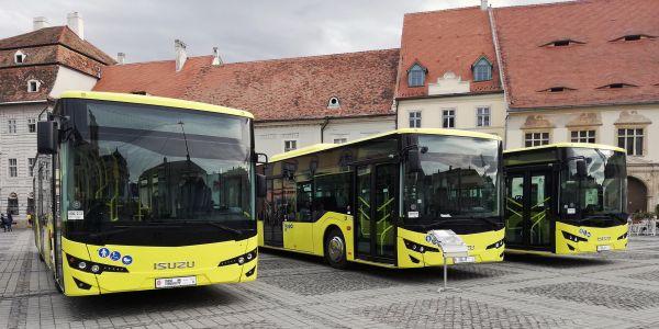 Anadolu Isuzu Romanya'ya 38 Otobüs tesslim etti