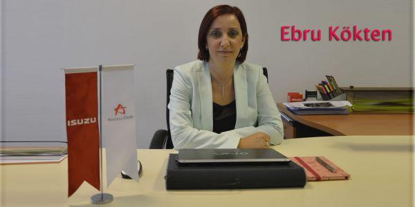 Anadolu Isuzu Teknoloji Müdürü Ebru Kökten oldu