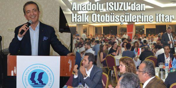 Anadolu Isuzu'dan Halk Otobüsçülerine iftar