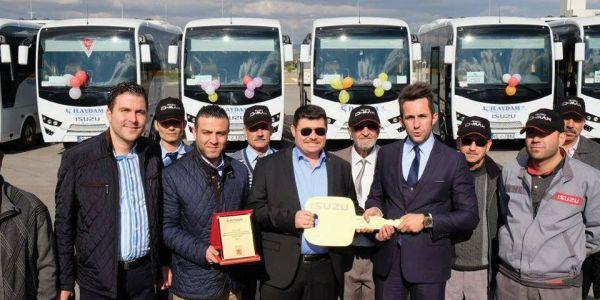 Anadolu Isuzu'dan İlaydam Turizm'e 10 Novo Lux
