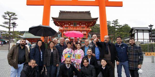 Anadolu Isuzu'dan Japonya seyahati