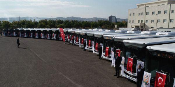 Anadolu Isuzu'dan Şanlıurfa'ya 27 Novociti Life otobüs