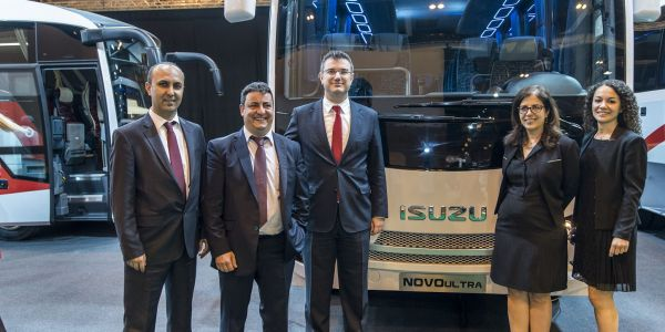Anadolu Isuzu'nun 2020 hedefi 60 ülkeye ihracat