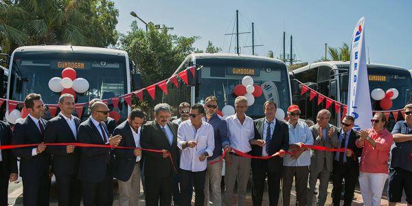 Anadolu Isuzu'nun Bodrum çıkarması