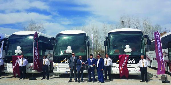 Anadolu Ulaşım 18 MAN ve NEOPLAN otobüs aldı