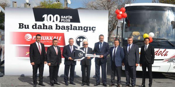 Anadolu Ulaşım filosuna 50 Safir Plus kattı