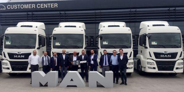 Ankara Nakliyat filosuna 10 MAN çekici kattı