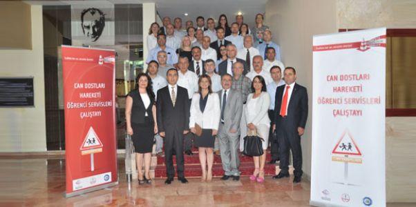Ankara'da Öğrenci Servisleri Çalıştayı yapıldı