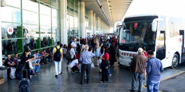 Ankara'da otobüslere indirme-bindirme durakları