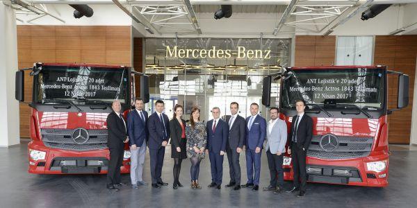 ANT Lojistik tercihini Mercedes-Benz Actros'dan yana kullandı