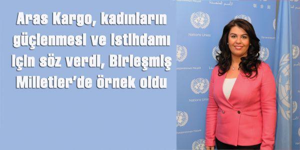 Aras Kargo, kadın istihdamı için söz verdi