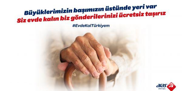 Aras Kargo'dan #EvdeKalTürkiyem kampanyası;